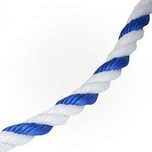 Blue & White Safety Rope for pools - sold per foot