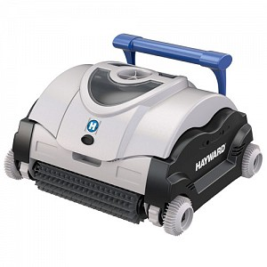 Hayward eVac robotic pool cleaner with caddy