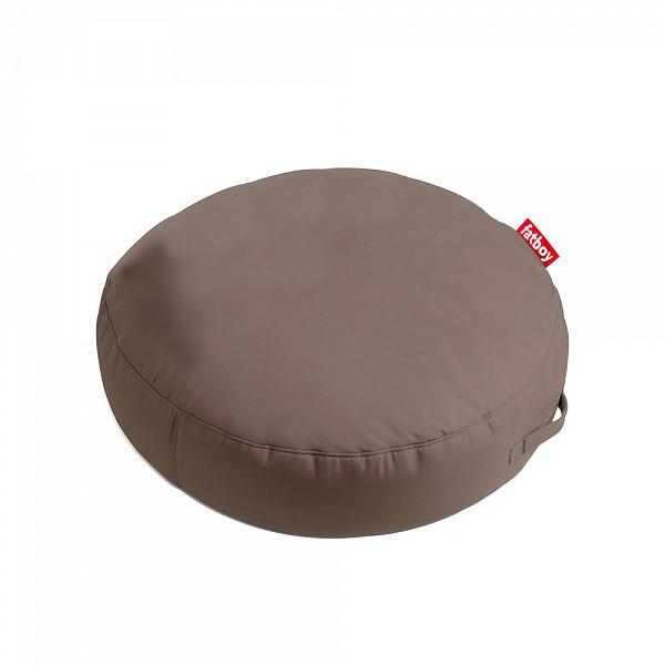 Pupillow Outdoor Round Beanbag in Sunbrella Fabric - Taupe