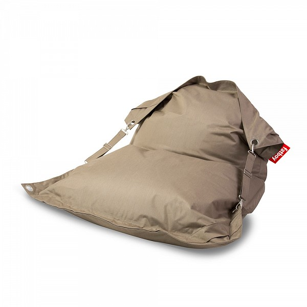 Buggle-Up Outdoor Beanbag Seat Taupe