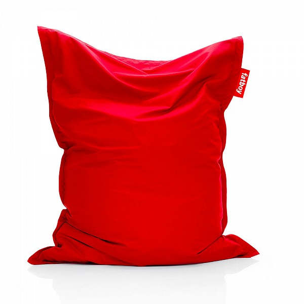 Fatboy Original Outdoor Bean Bag with Red Sunbrella Fabric