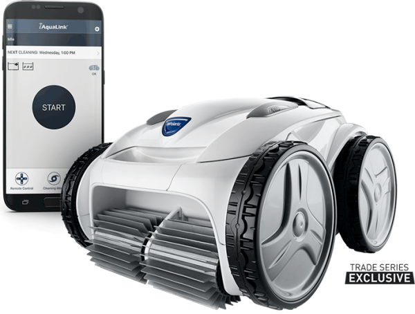 Polaris P965iQ robotic pool cleaner with caddy WIFI enabled