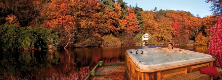 Hot Tubbing Ideas for the Fall & Winter