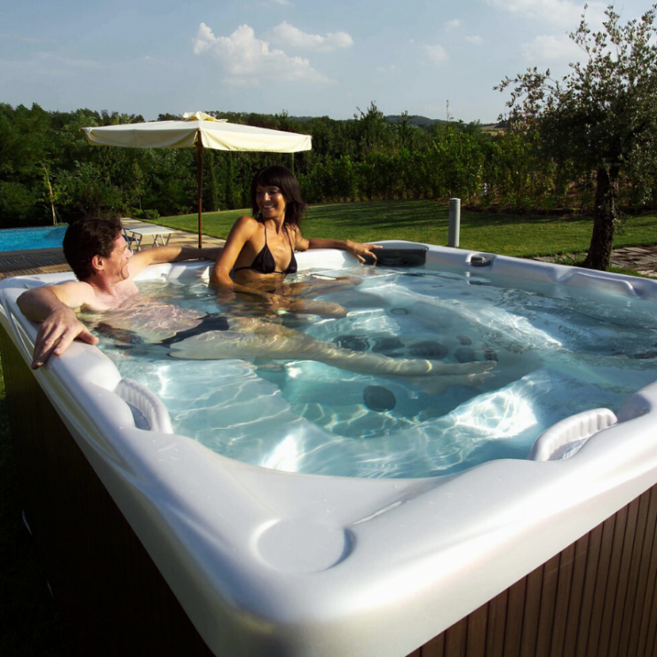 How a Beachcomber Hot Tub Supports Your Fitness Goals