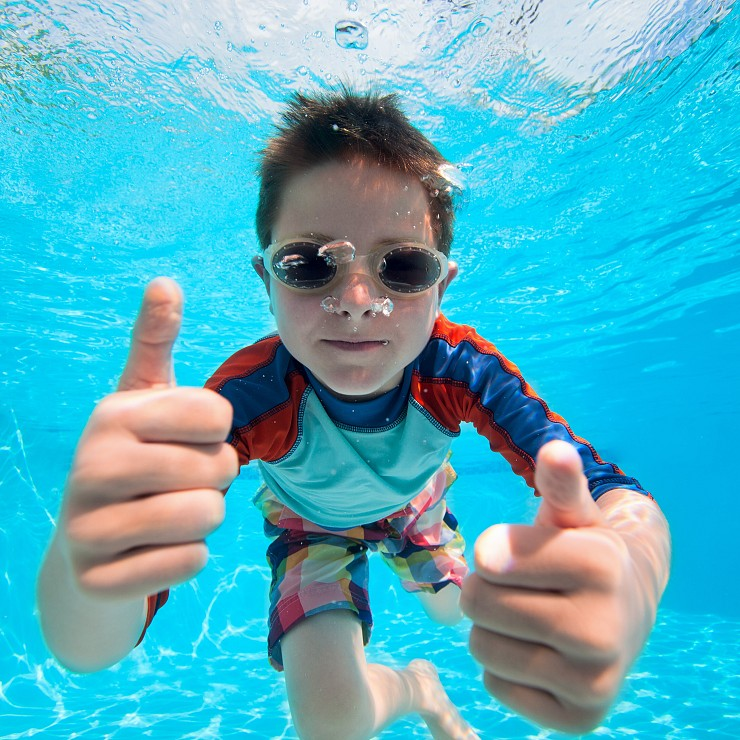 Using Your Backyard Swimming Pool to Stay Active
