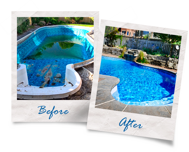 Reconstruct Your Pool to Meet