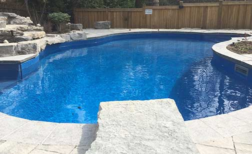 Vinyl Swimming Pool Liner Repair, Cost Replacing Inground Vinyl Pool Liner